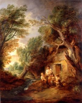 Gainsborough Cottage Door